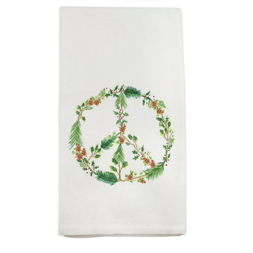 Winter Peace Dishtowel