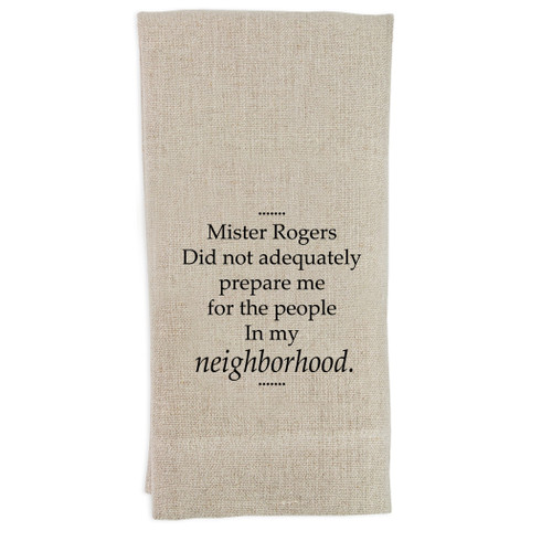 Mister Rogers Guesttowel