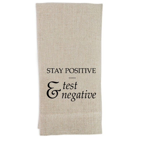 Stay Positive Guesttowel