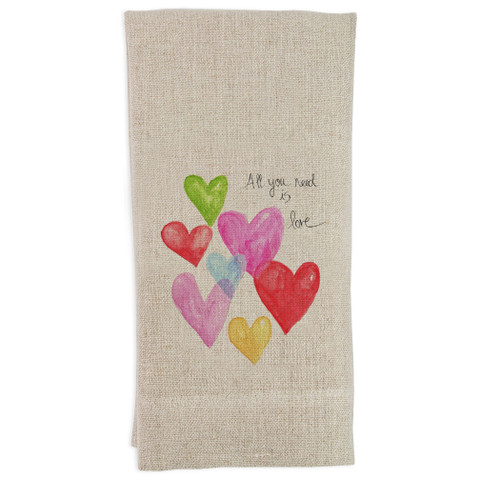 All You Need Is Love Guesttowel