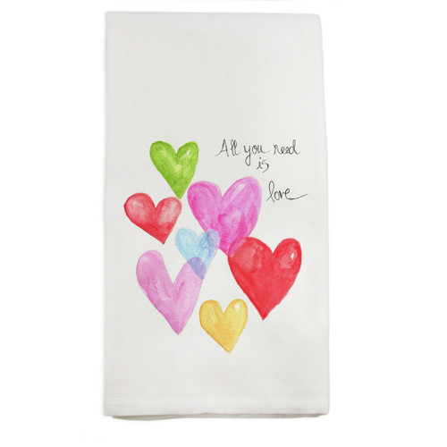 All You Need Is Love Dishtowel