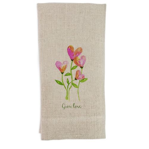 Grow Love Guesttowel
