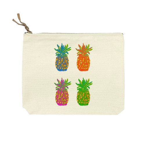 Popping Pineapples Cosmetic Bag