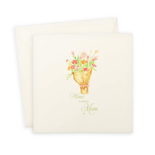 Tied Bundle of Flowers Mother's Day Note Card