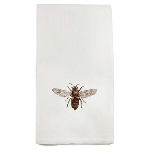 Bee No Words Dishtowel