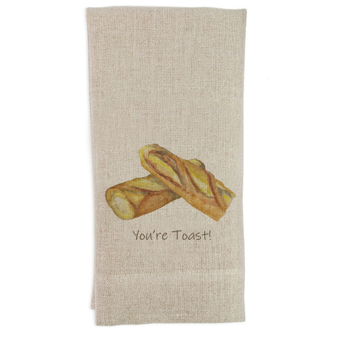 Baguette with Quote Guesttowel