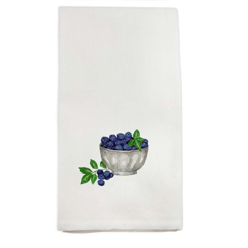 Blackberry Bowl Dishtowel