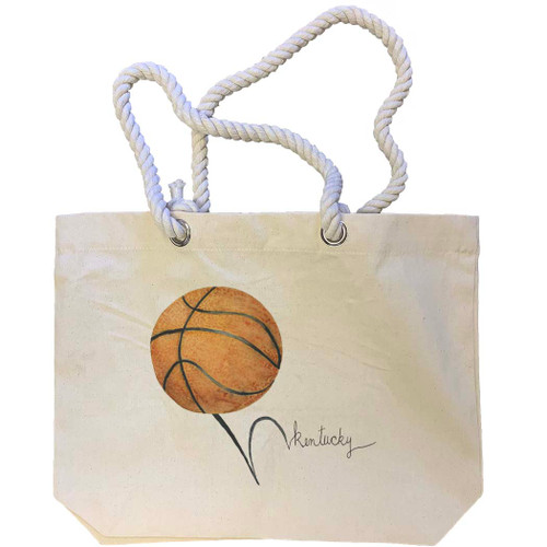 Basketball Kentucky Tote Bag