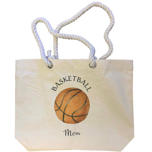 Basketball Mom Tote Bag