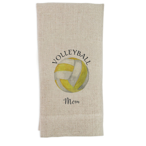 Volleyball Mom Yellow Guesttowel