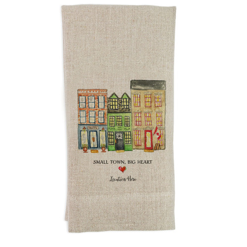 Small Town Big Heart Canada Location Guesttowel
