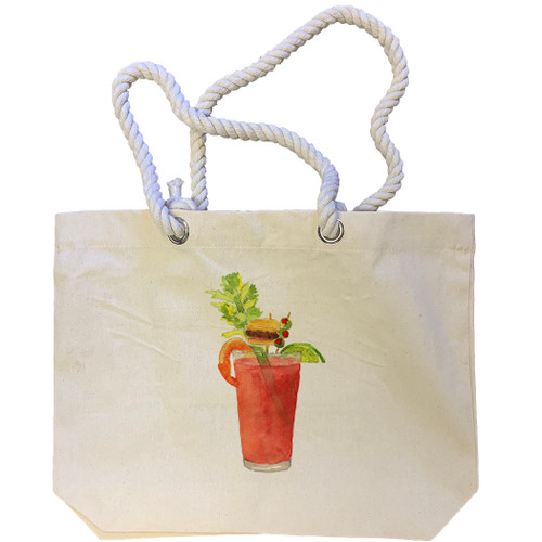 Brunch in a Glass No Words Tote Bag