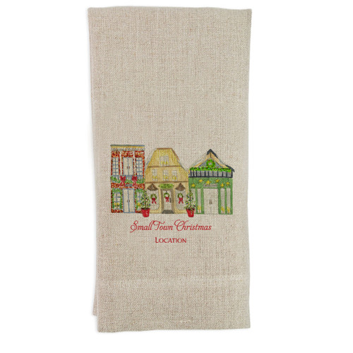 Small Town Christmas with Location Guesttowel