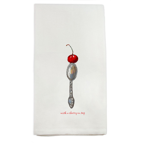 Cherry on Top Dishtowel