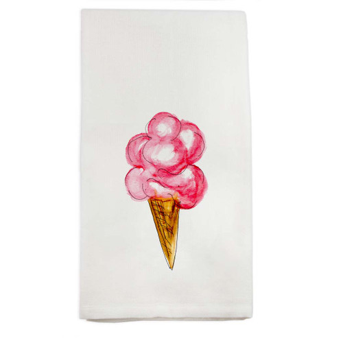 Ice Cream Cone Dishtowel