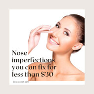 ​Five nose imperfections you can fix without surgery for less than $30