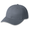 Charcoal - Heavyweight Brushed Cotton Drill Cap | Hats&Caps.ca