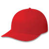 Scarlet Red - 5D740M Brushed Cotton Drill Cap | Hats&Caps.ca