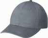 Washed Charcoal - 6D770M Enzyme Washed Deluxe Chino Twill Cap