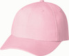Washed Pink - 6D770M Enzyme Washed Deluxe Chino Twill Cap