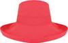 Crimson - 9L000L Ladies Deluxe Cotton Wide Brim Style Hat | Hats&Caps.ca