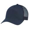 Navy -  5970L Women's Polycotton / Nylon Mesh Cap | Hats&Caps.ca