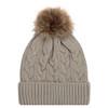 Oatmeal/Beige - 9L594L Acrylic Cuff Toque | Hats&Caps.ca