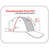 1B639M Polyester Rip Stop Cap | Hatsandcaps.ca
