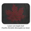 Black - Maple Leaf, 1B639M Polyester Rip Stop Cap | Hatsandcaps.ca