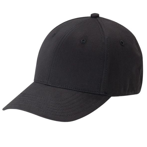 Black - AC5000 Cotton Drill & Spandex Cap | Hats&Caps.ca