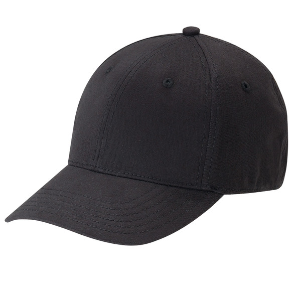 Black - AC5000 Cotton Drill & Spandex Cap | Hats&Caps.ca