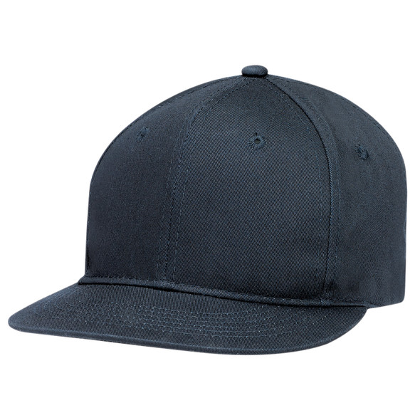 Navy - 6F660M Deluxe Chino Twill Cap | Hats&Caps.ca