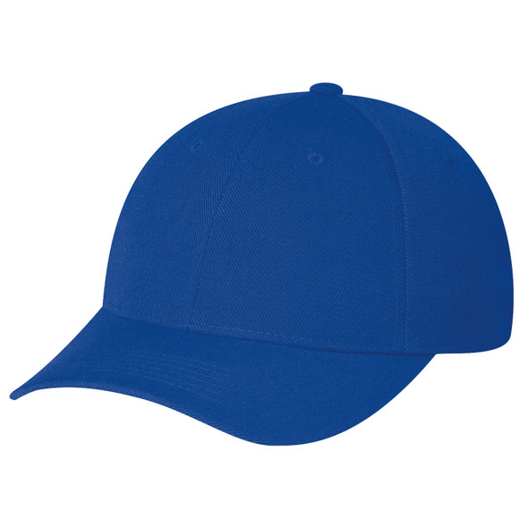 Royal Blue - 1260 Wool Serge Fitted Cap | Hats&Caps.ca