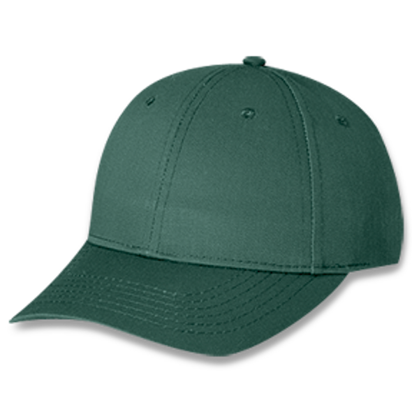 Forest Green - Polycotton Cap | Hats&Caps.ca