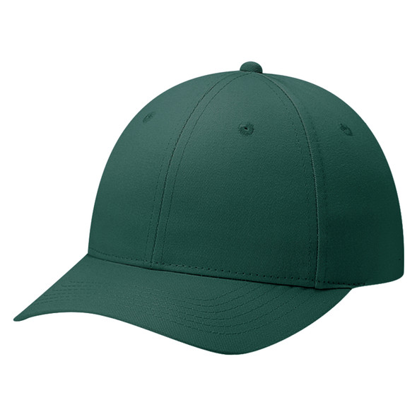 Forest Green - 6J400M Deluxe Blended Chino Twill Cap | Hats&Caps.ca