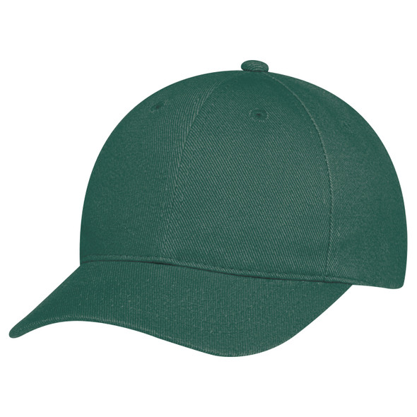 Forest Green - 2C390M Heavyweight Brushed Cotton Drill Cap | Hats&Caps.ca