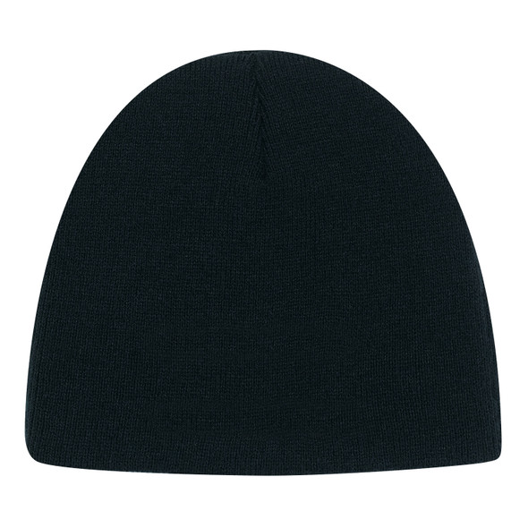 Black - 5Z030J Youth Lightweight Acrylic Toque | Hats&Caps.ca