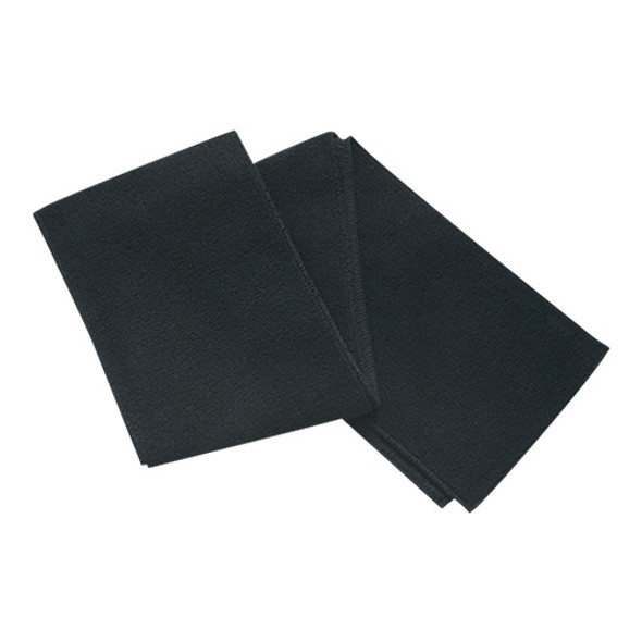 Black - 6W540M Polyester Fleece Scarf | Hats&Caps.ca