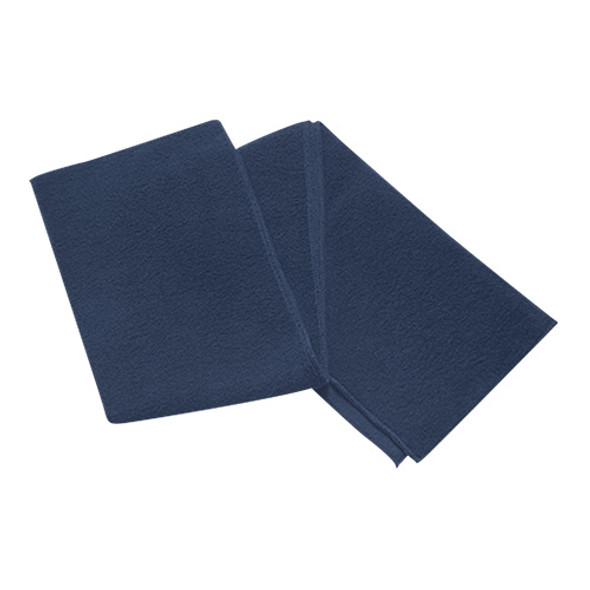 Navy - 6W540M Polyester Fleece Scarf | Hats&Caps.ca