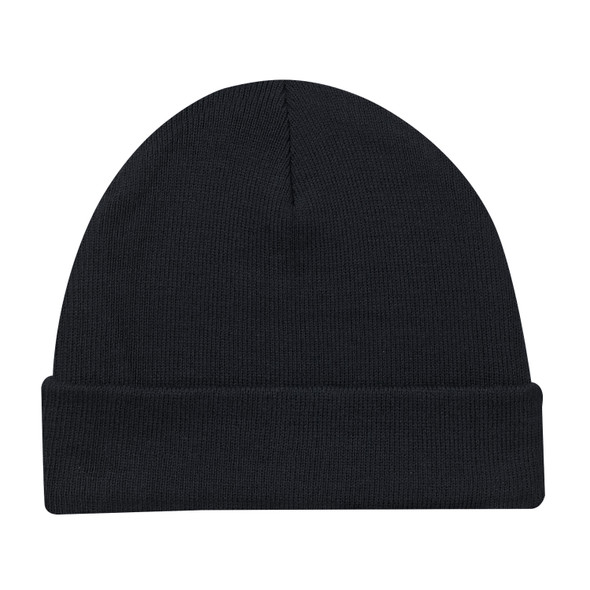 Black - 5Z530M Lightweight Cuff Toque | Hats&Caps.ca