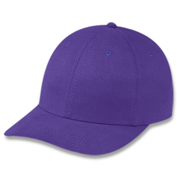 Purple - Heavyweight Cotton Cap | Hats&Caps.ca