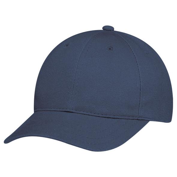 Navy - 2C390B Youth Heavyweight Cotton Drill Cap | Hats&Caps.ca