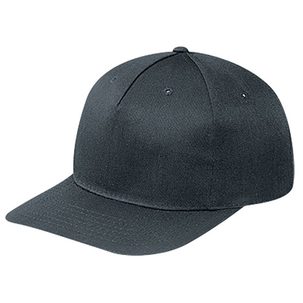 Black - 5810M Polycotton Pro-Look Cap | Hats&Caps.ca