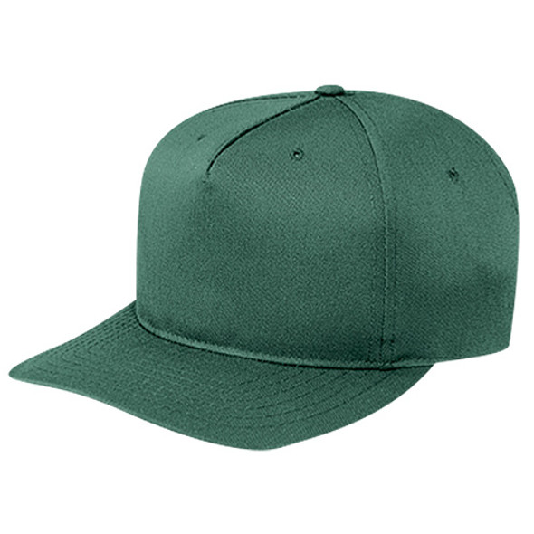 Forest Green - 5810M Polycotton Pro-Look Cap | Hats&Caps.ca