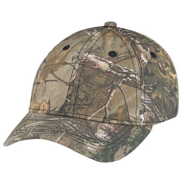 6Y390B Youth Brushed Poly/cotton Realtree AP® Cap | Hast&Caps.ca