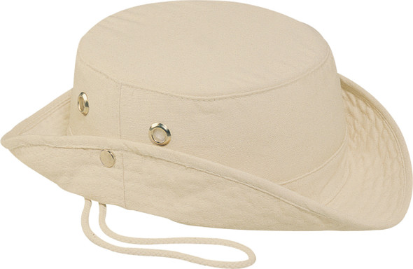 Canvas - 3C130M Marine Style Canvas Bucket Hat | Hats&Caps.ca