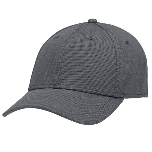 Charcoal - AC0010 Deluxe Polyester Cap   Hats&Caps.ca
