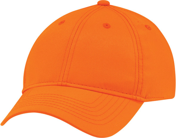 Fluorescent Orange - 8630M Safety Polyester Constructed Full-Fit Cap | Hats&Caps.ca