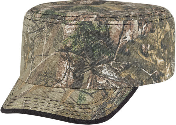Realtree Xtra® - 6Y360M Poly/Cotton Camo 2-Panel Military Cap | Hats&Caps.ca