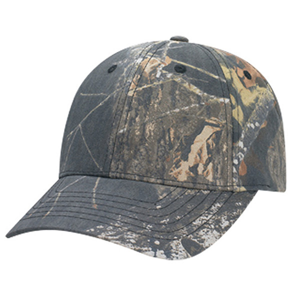 Mossy Oak Break Up® - 6Y440M Brushed Polycotton Camo Cap | Hats&Caps.ca